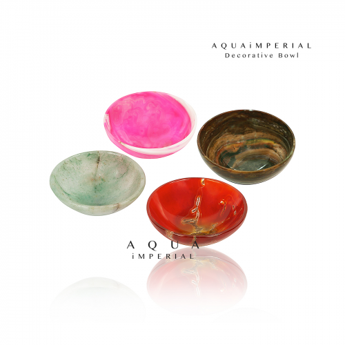 Agate Quartz Decorative Bowls